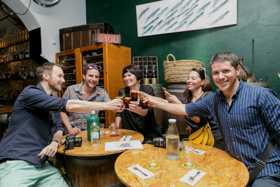 A vermouth aperitif with Food Tours Barcelona