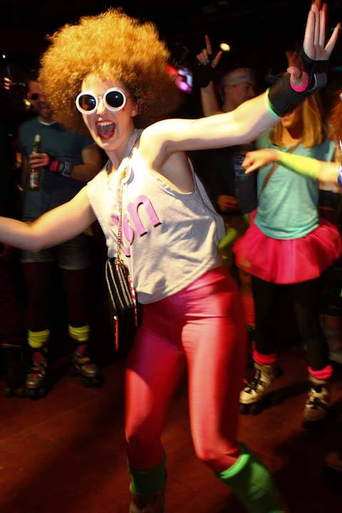 Rollergirls just wanna have fun. (Photo by Rollerdisco).
