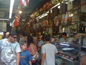 Italian fare at Arthur Avenue market