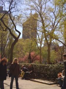 New York park life