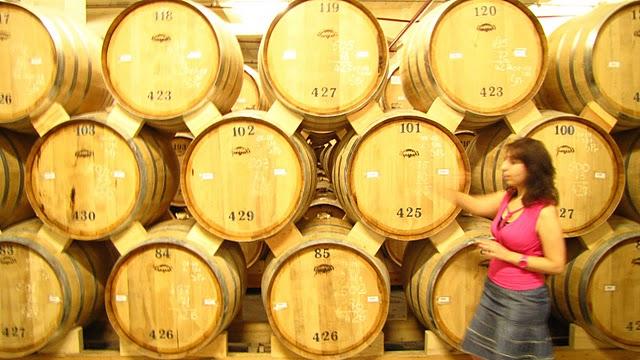 Barrels of fun on the cognac tour
