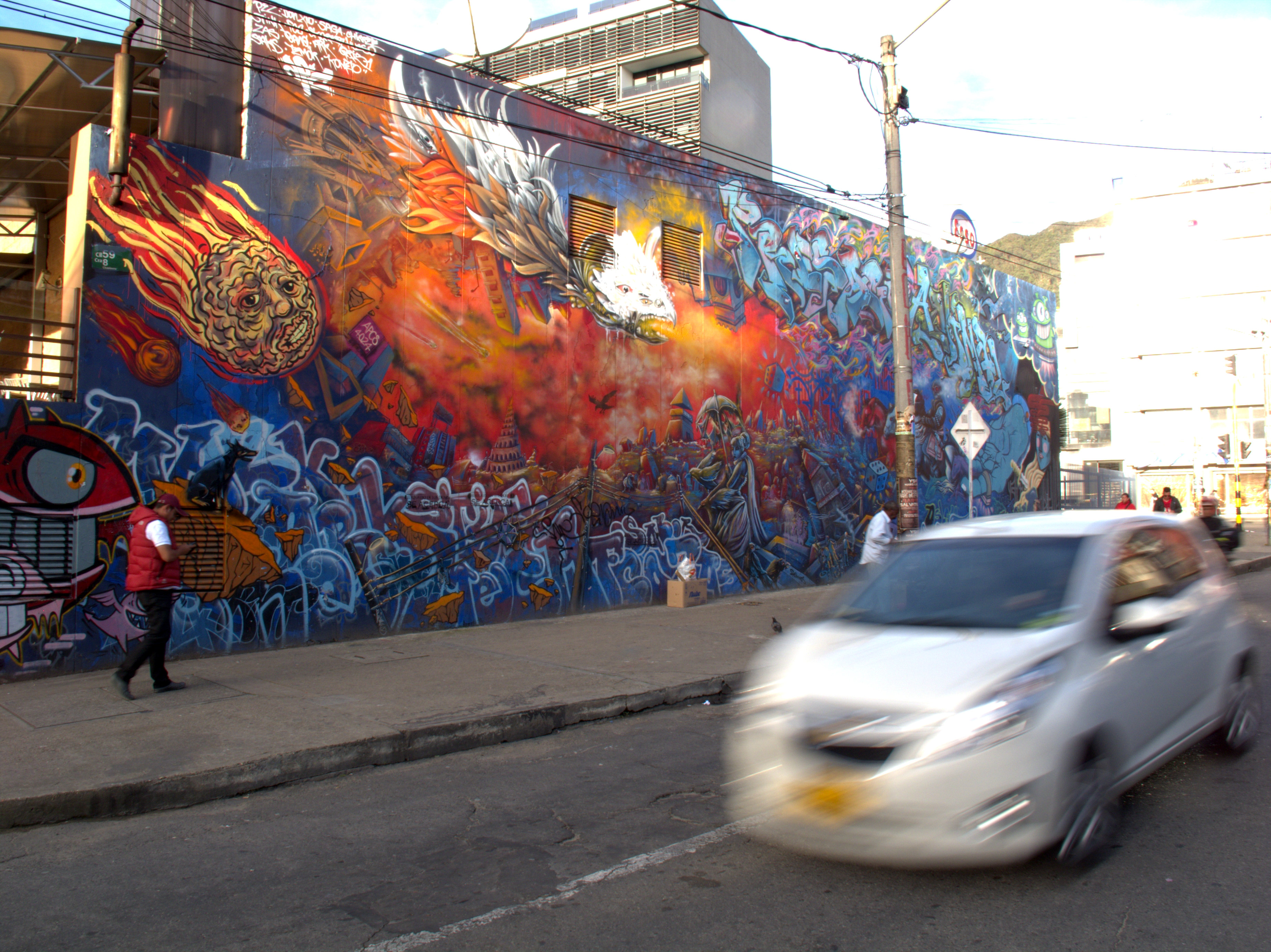 Bogota Graffiti: Larger than life