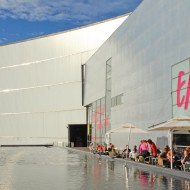 The Kiasma Helsinki. A contemporary art house, theater, cafe, etc.