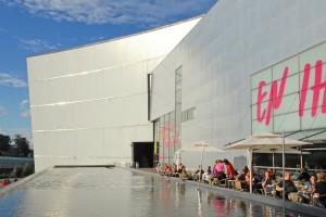 The Kiasma Helsinki. A contemporary art house, theater, cafe, etc.