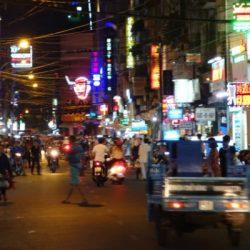 Ho-Chi-Minh at night vietnam