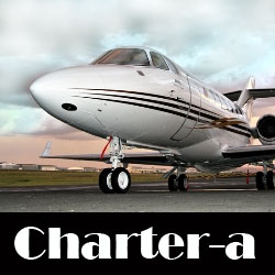 private jet charter from Charter A