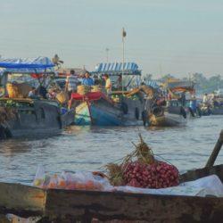 mekong delta floating villages