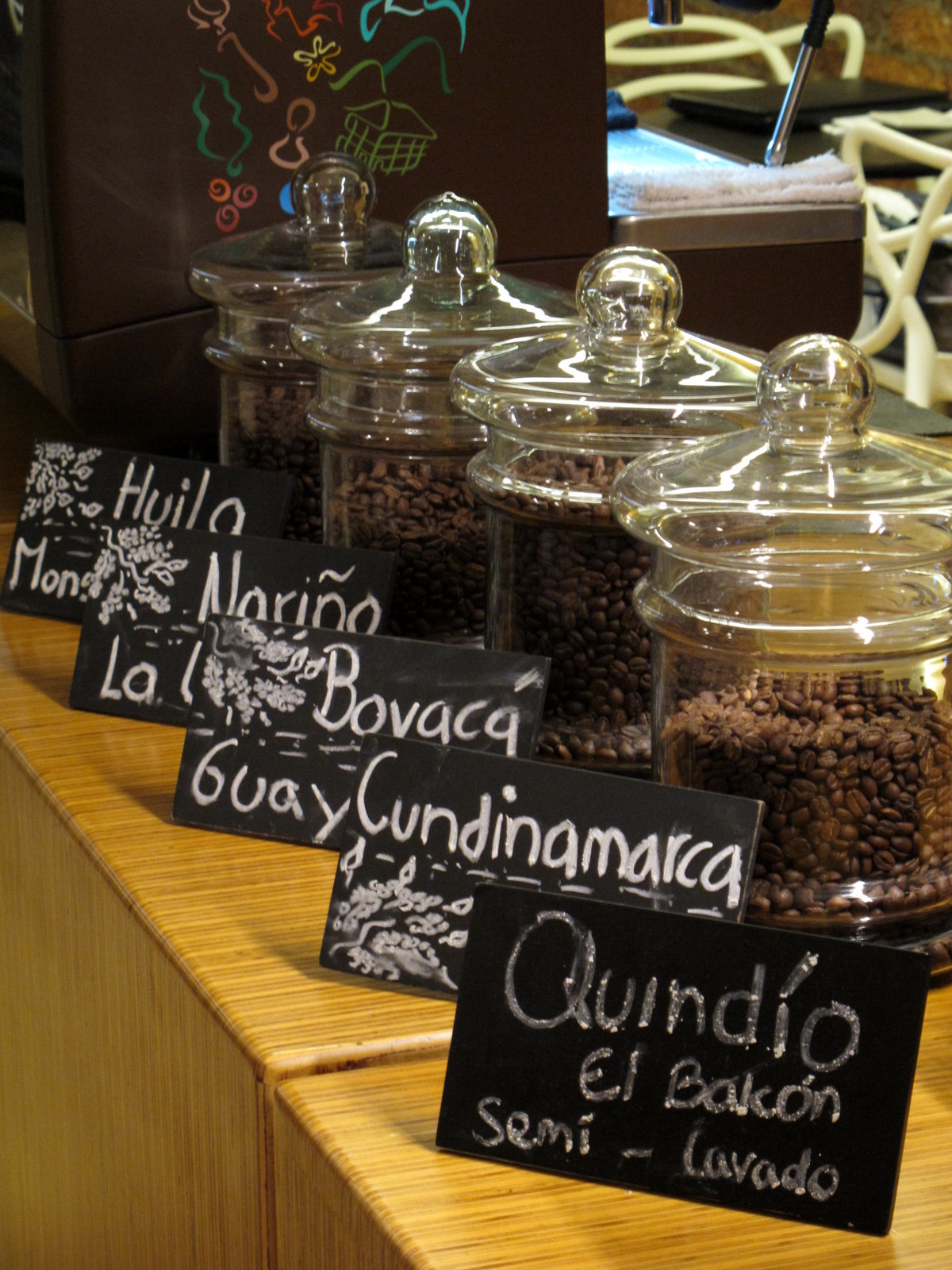 A line of Colombia's finest