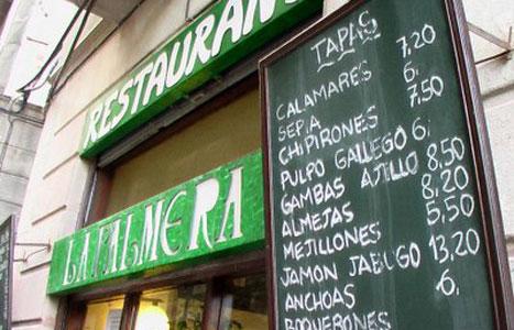 Barcelona tapas restaurants