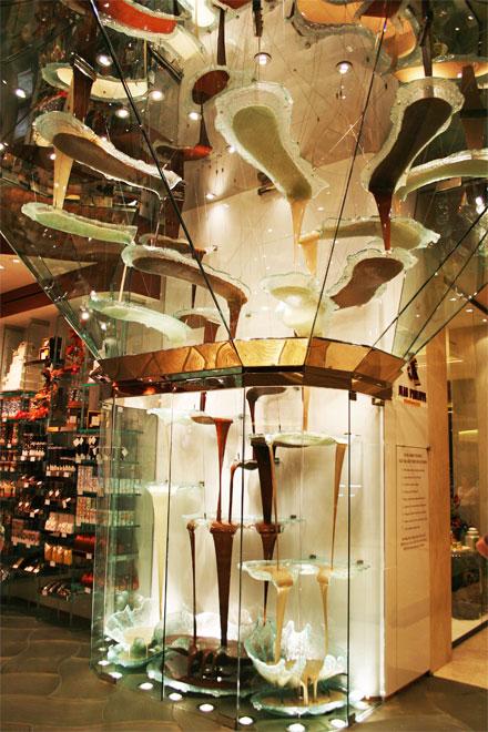 Bellagio Chocolate Fountain Urban Travel Blog