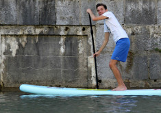 Stand Up Paddling Goes Urban in Slovenia