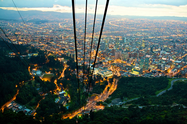 Bogotá is Colombia's capital city / Source: Tijs Zwinkels, Flickr, cc by-sa