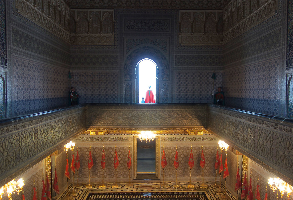 Mausoleum-of-the-king-rabat
