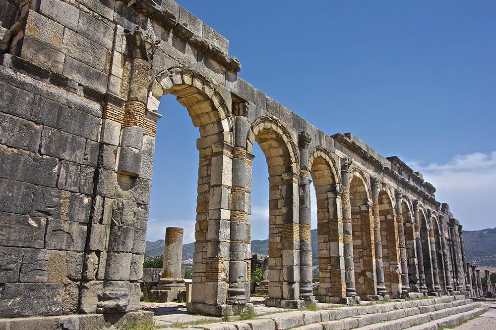 Volubilis-columns