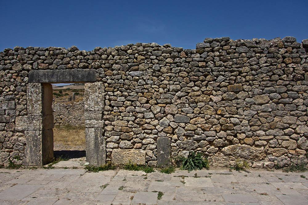 Volubilis-wall