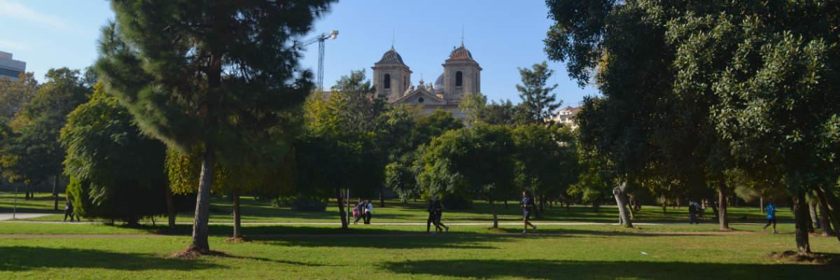 Valencia's Turia Gardens: Riding The Riverbed