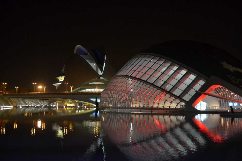 city-arts-sciences-night