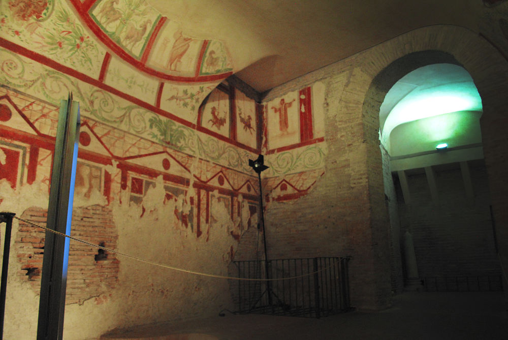 Interior decor, Roman style