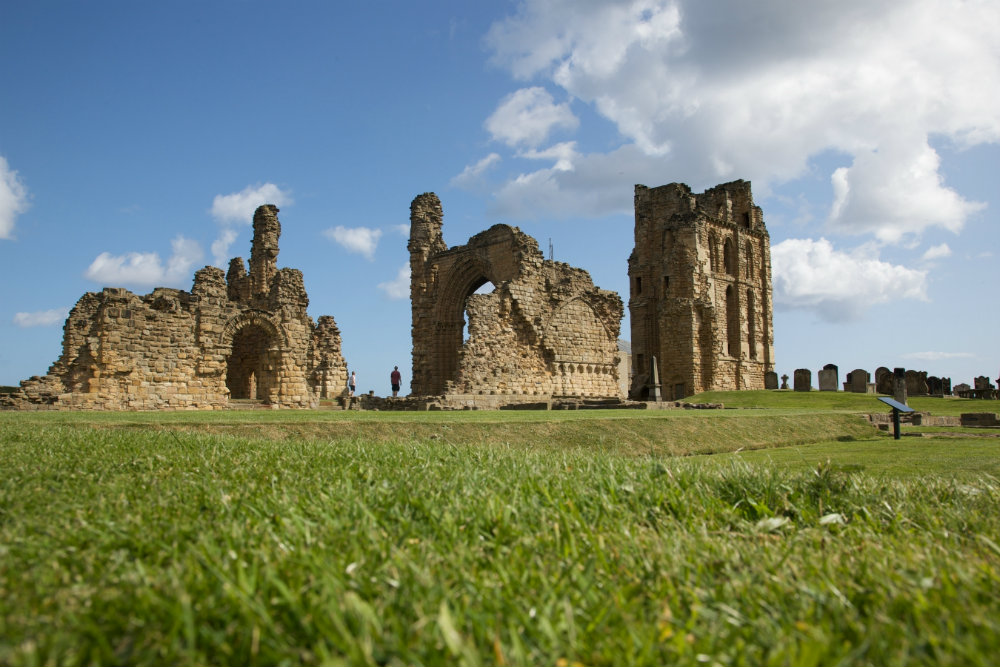 Venturing out to the Tynemouth Priory & Castle