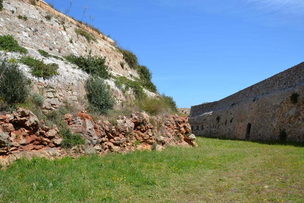 Exploring British history at the Malborough Fort