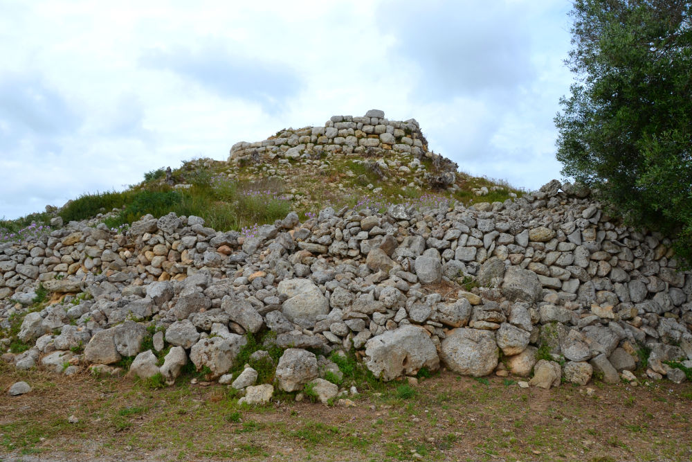 The remains of an ancient Talayot tower
