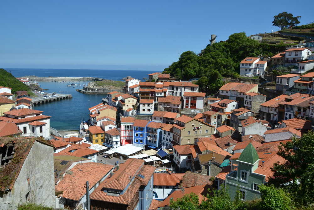 One of Asturias' pretty fishing villages