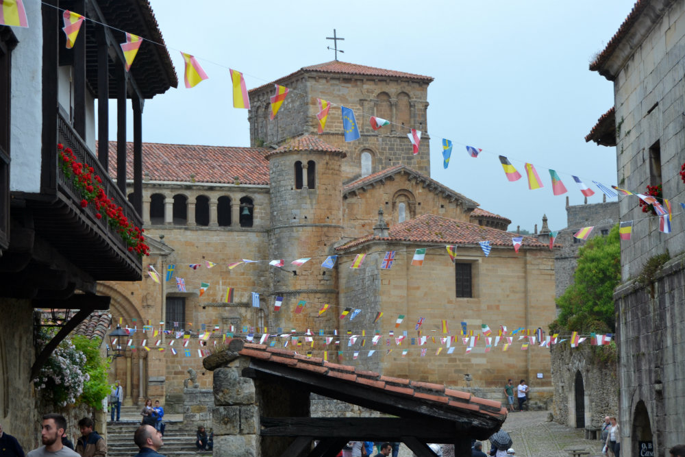 Picturesque towns like Santillana del Mar dot the Northern Camino...