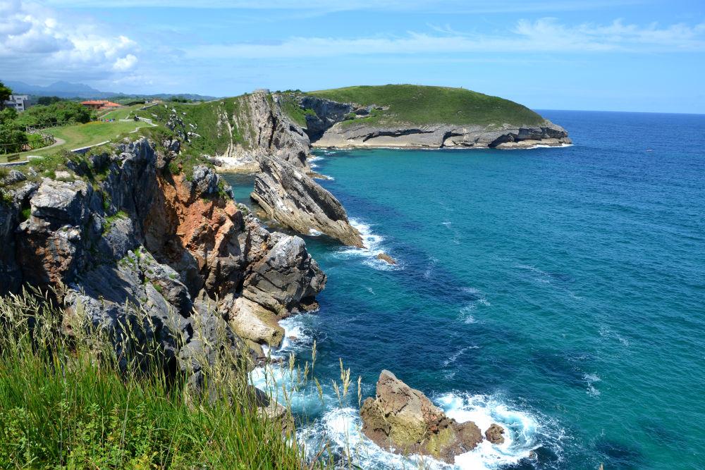 Asturias coastline near llanes