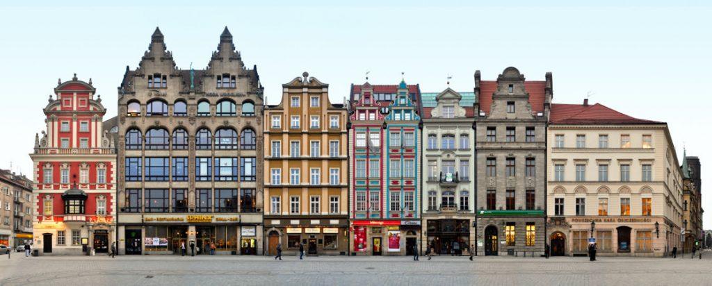 Breslau Schlesien Großer Ring Architektur