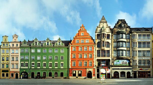 Wroclaw Rynek Panorama 2
