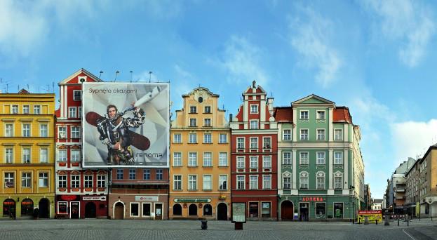 Wroclaw Rynek Panorama Foto