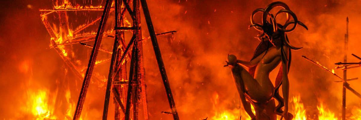 Las Fallas: Burn Baby, Burn!