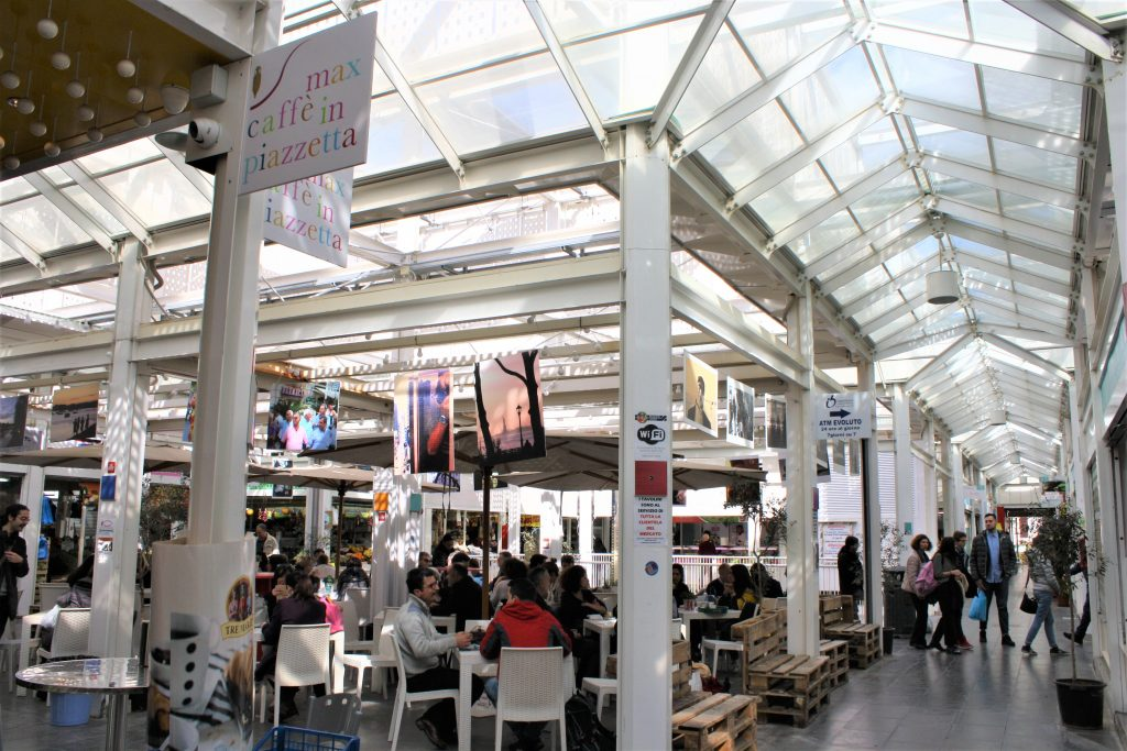 Eco-sustainable space of the New Testaccio Market