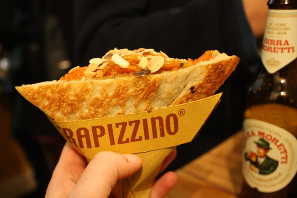 Rome's copyrighted street food