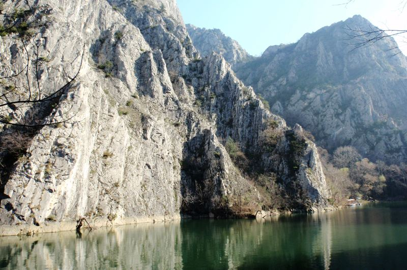 Matka Canyon, just west of Skopje, is a popular getaway surrounded by forests (Photo: Chris Deliso)