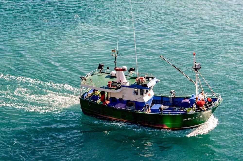 Trundling trawlers