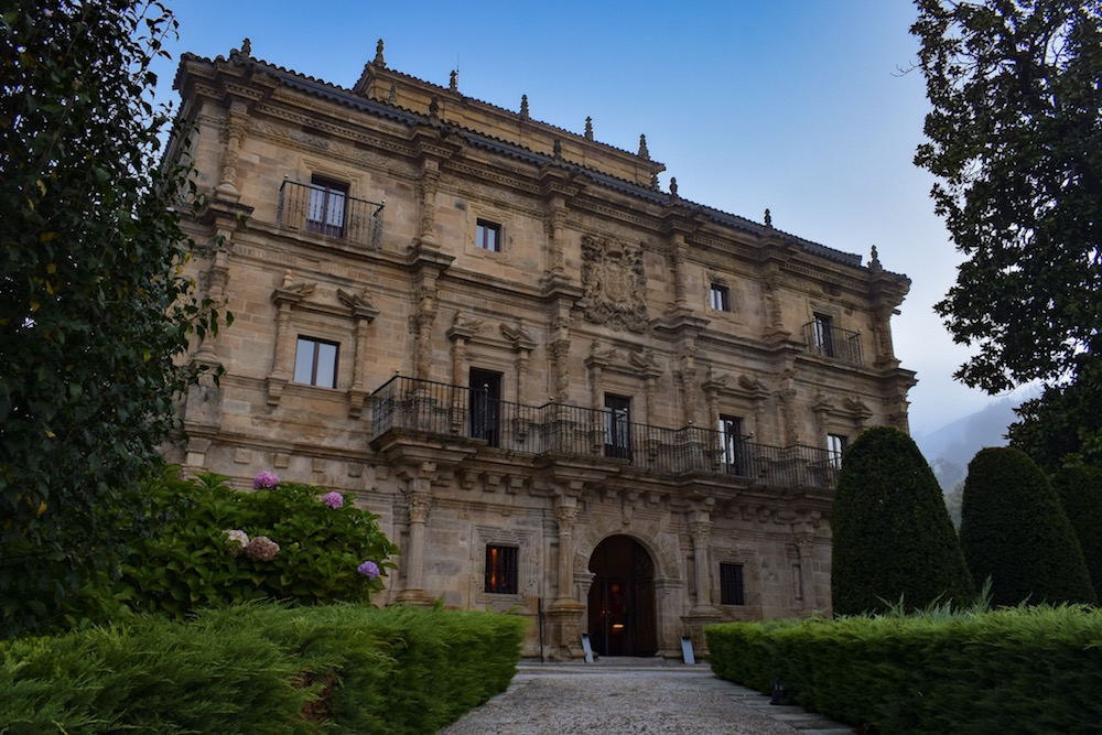 Early morning at Palacio de Sonanes – I'd slept like a king