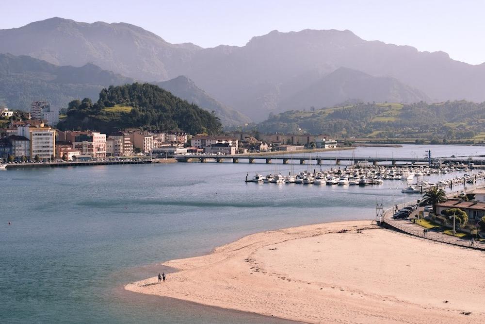Ribadesella, where the mountains kiss the sea