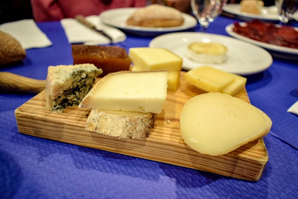 Asturias' famous cheese
