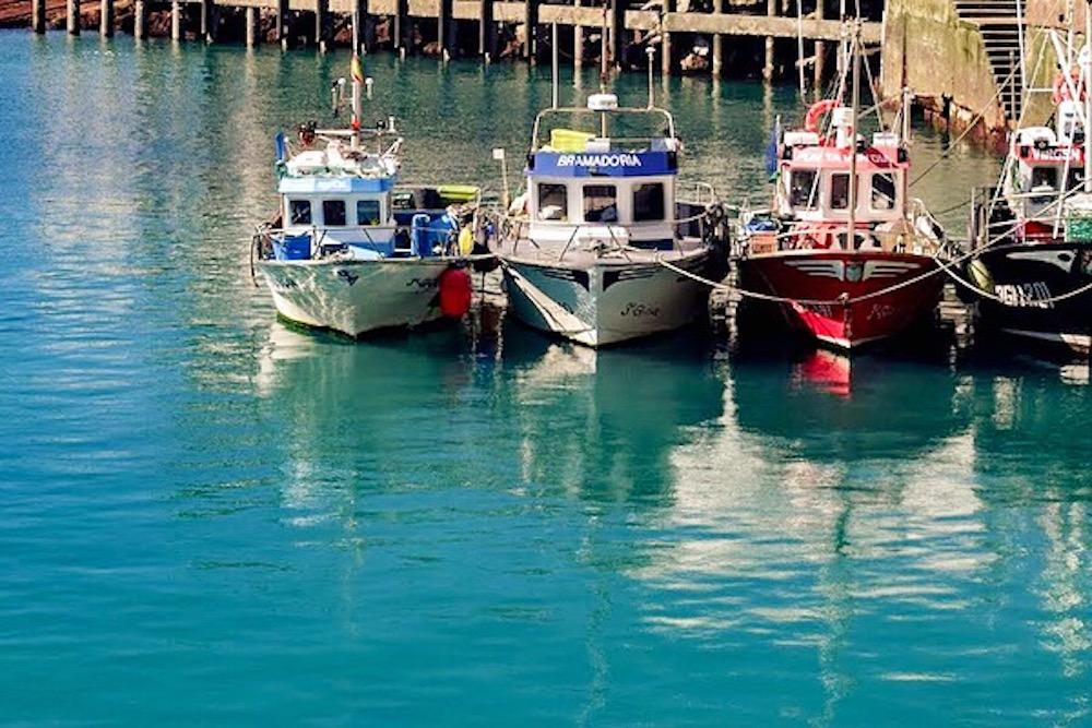 Llanes harbour