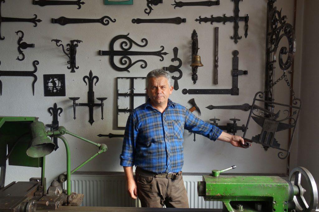Joseph Covasnan blacksmith