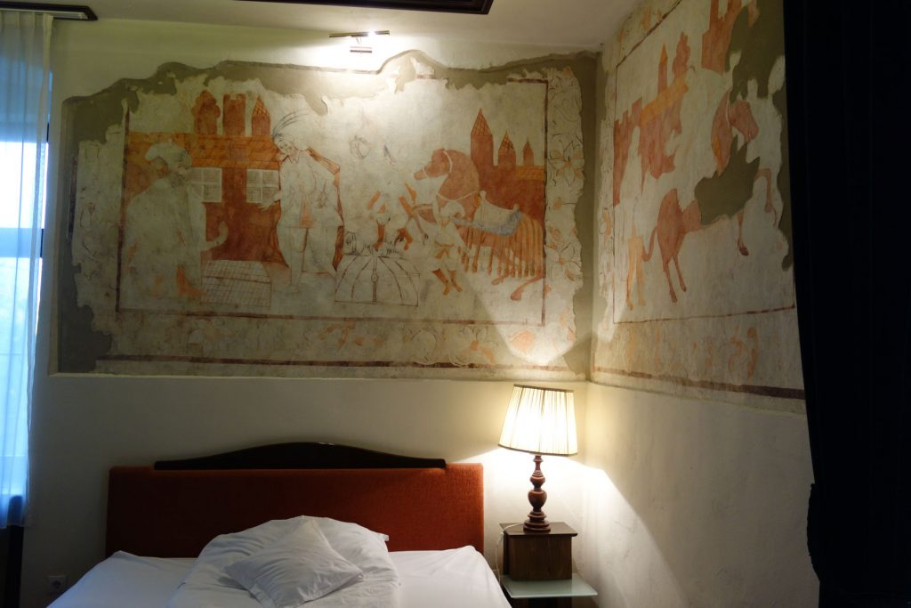 Constantinople Room wall paintings