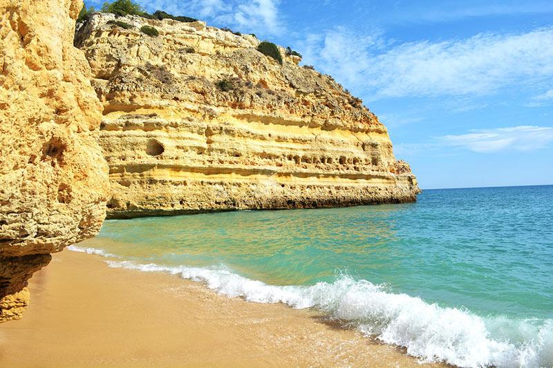 Praia da Marinha is a Portuguese beauty...
