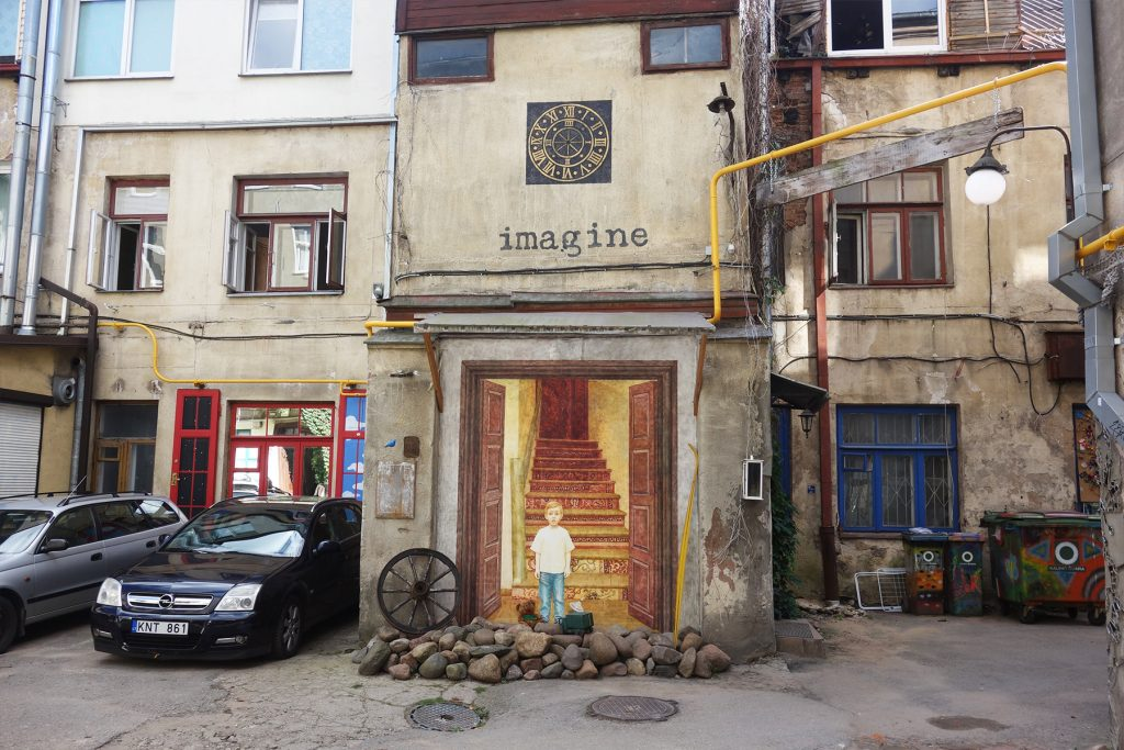 The courtyard gallery Kaunas