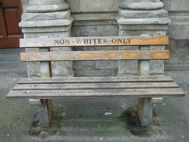 A reminder of apartheid