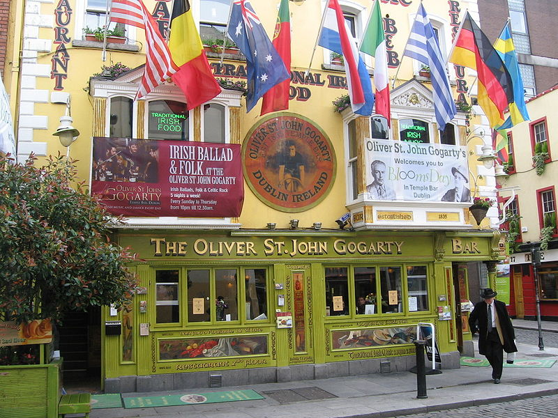 One of many popular places of worship in Temple Bar