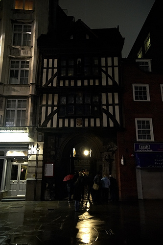 A capital of creepy courtyards