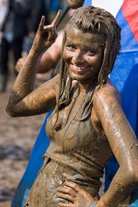 Mud: a devout regular on the UK festival circuit