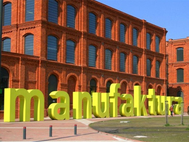 Say yellow to Manufaktura