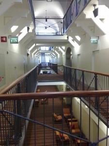The sinister interior of the Hotel Katajanokka